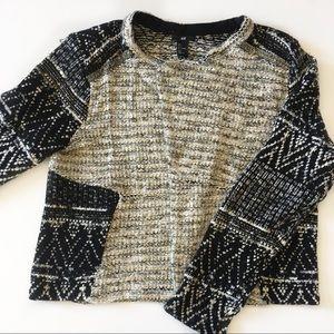 H&M • Open Sweater Jacket